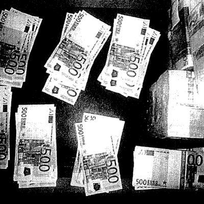 S Viidensadan euron seteleitä.