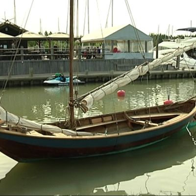 Kustavin venesatama.