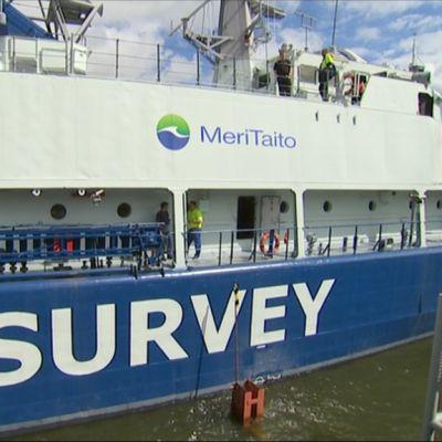 Miinalaiva Pohjanmaa muutettiin merentutkimusalus Pohjanmereksi.