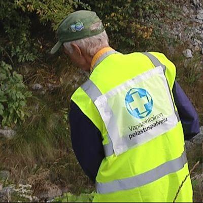 Vapaaehtoisten pelastuspalvelu etsinnöissä