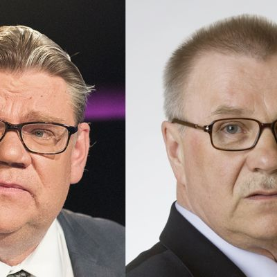 Timo Soini, Pentti Oinonen.
