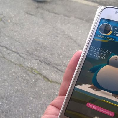 Pokémon GO-pelin hahmo Snorlax