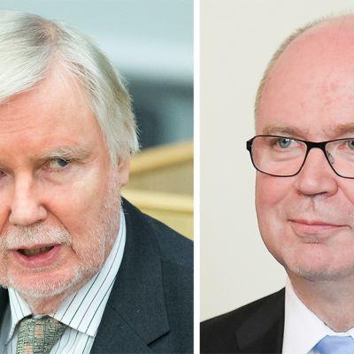 Erkki Tuomioja ja Eero Heinäluoma.