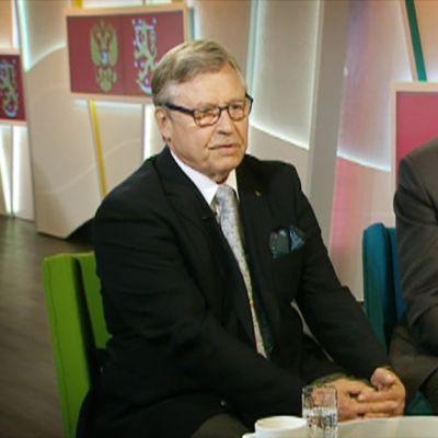 Pertti Salolainen ja Matti Vanhanen.