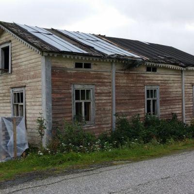 Kraatarin talo Varilantien varrella Kaustisella
