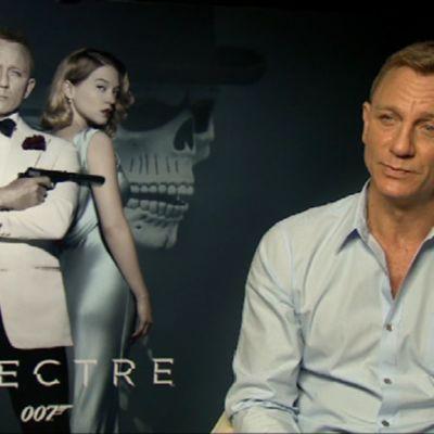 Bond-elokuvan näyttelijä Daniel Craig