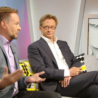 Pekka Isotalus ja Mikael Jungner