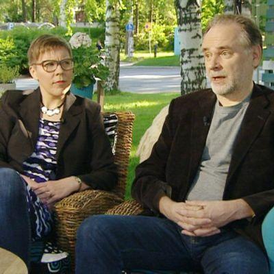 Maria Lassila-Merisalo ja Markku Paretskoi