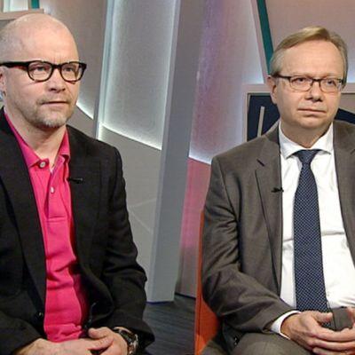Aki Kangasharju ja Reijo Heiskanen