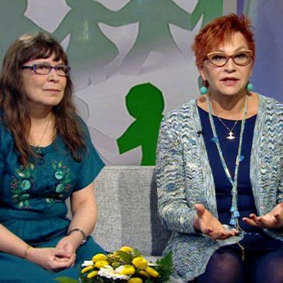 Eira Suhonen ja Niina Sajaniemi.