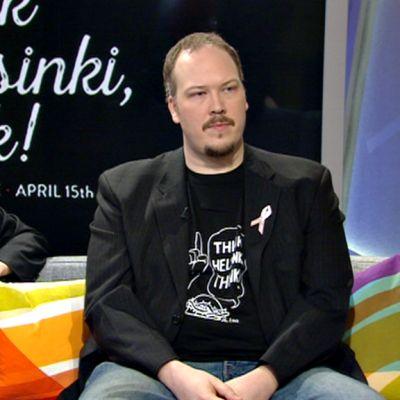 Syksy Räsänen (vas.) ja Markus Sandelin.