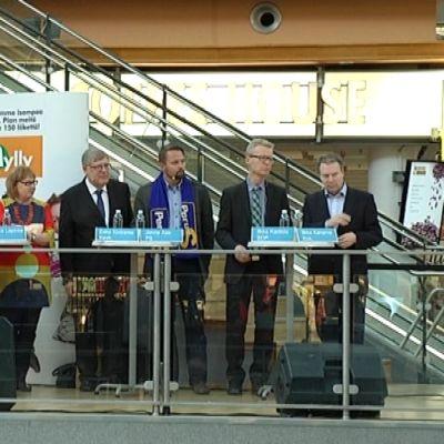Yle Turun ja Turkulaisen vaalipaneelin osallistujat