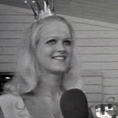 Suomen hiekkarantojen kuningatar kilpailun voittaja 1972