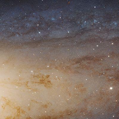Andromeda galaksi.