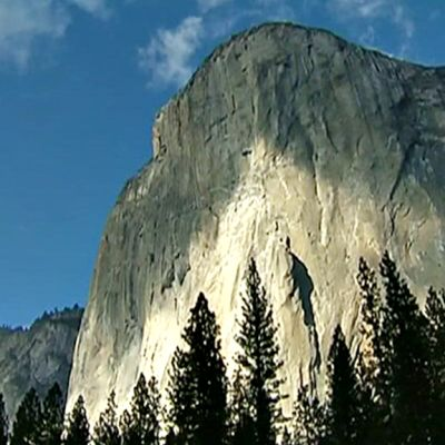 Yosemiten kansallispuiston El Capitan -monoliitti.