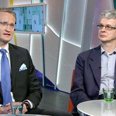 Jarmo Limnell ja Tapani Tarvainen.