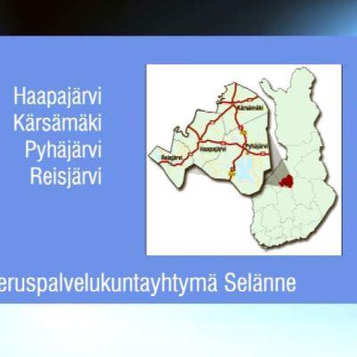 Peruspalvelukuntayhtymä Selänteeseen kuuluu tällä hetkellä neljä kuntaa.