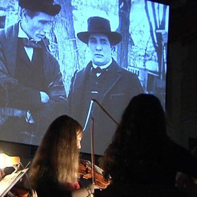 Berliinin Händel-sinfoniaorkesteri harjoittelee