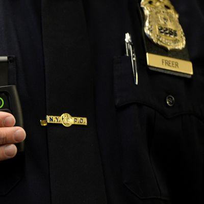 Mikrokamera poliisi New York.