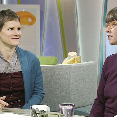 Saara Henrikksson ja Aino-Maija Leinonen