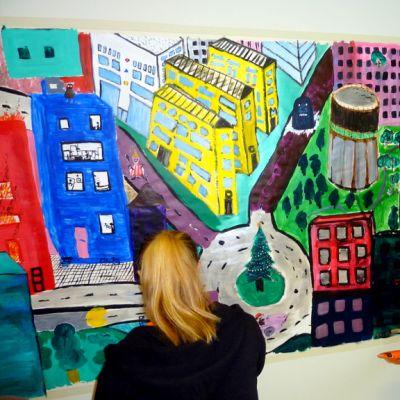 Nuorten taidepaja Lappeenrannassa,