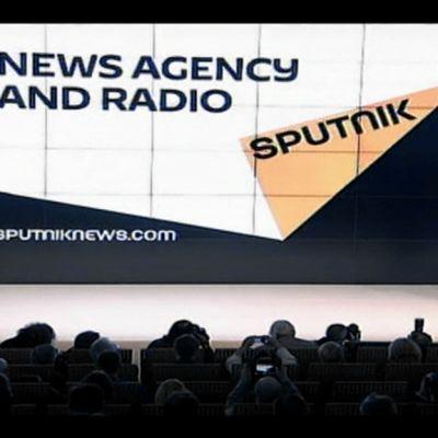Sputnik-uutisia esitellään Moskovassa