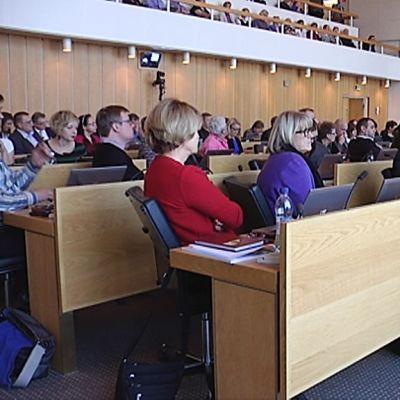 Rantatunneli äänestys Tampereen kaupunginvaltuusto