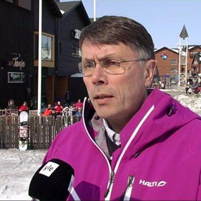 Levi Ski Resortin toimitusjohtaja Jouni Palosaari.