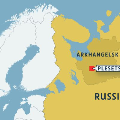 Map of Russia.