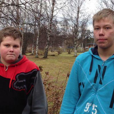 Jani Pätsi ja Teemu Hyttinen pelastivat miehen järvestä