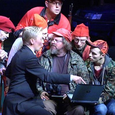 Tarkastaja saa ensi-iltansa Vaasan kaupunginteatterissa 8. marraskuuta.