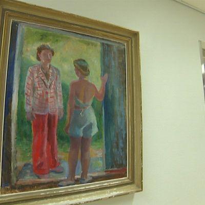 Etelä-Karjalan keskussairaala taide taulu taideteos Lappeenranta