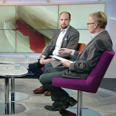 Lasse Männistö, Maria Guzenina-Richardson, Tuomo Puumala ja  Juha Hietanen.