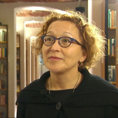 Mediatutkija, professori Anu Koivunen Tukholman yliopistosta.