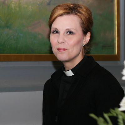 Sodankylän seurakunnan kirkkoherra Hanna Kuusela