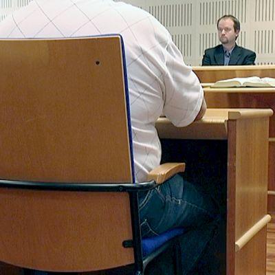 Wincapita-oikeudenkäynti Etelä-Karjalan käräjäoikeudessa Lappeenrannassa.