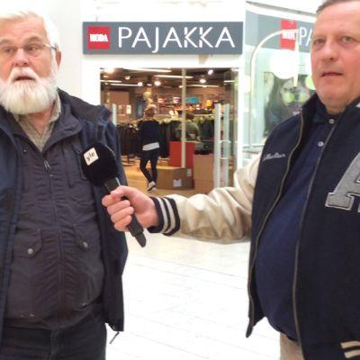Reijo Heikkinen ja Harri Nousiainen