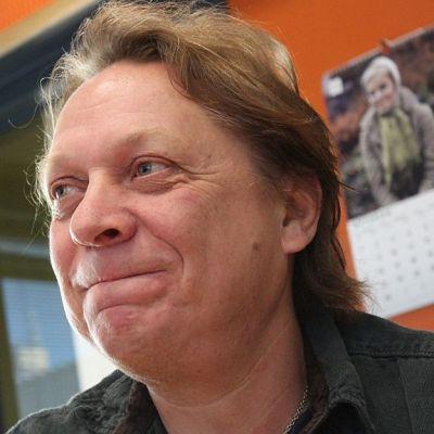 """Heikki """"Hessu"""" Salo taitaa laulujen sanoittamisen."""