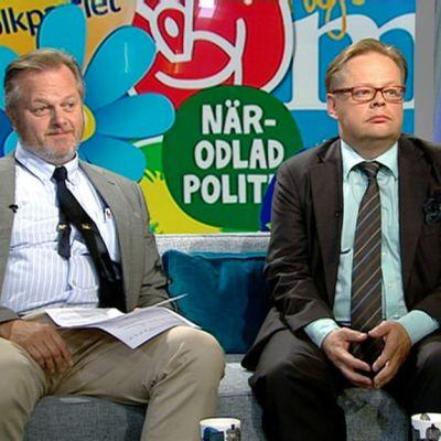 Jan Sundberg ja Juhana Vartiainen