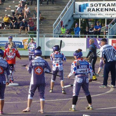 Vuokatin Veto Hiukan stadionilla.