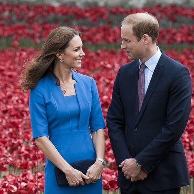 Prinssi William ja Catherine.