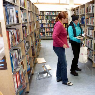 Kortepohjan kirjasto.