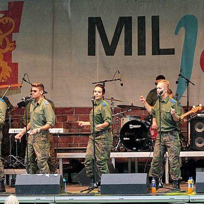 MILjazz vuonna 2013 Kajaanissa.