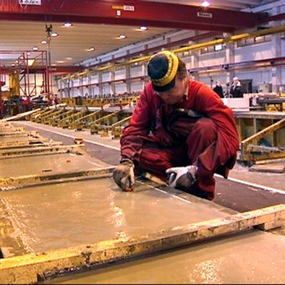 Betsetin betonielementtitehdas Kyyjärvellä