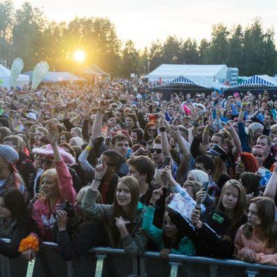 Petri Nygårdin yleisöä