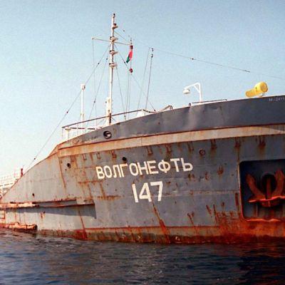 Venäläinen öljytankkeri
