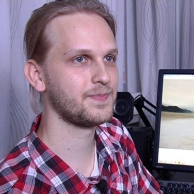 Digitaiteilija Veikka Somerma.