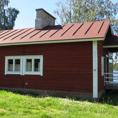 Rovaniemen Kotiseutumuseon pihasauna