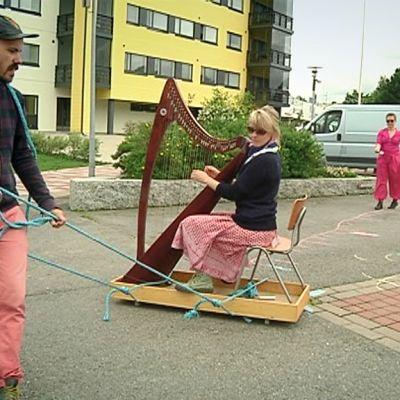 Musiikin aika -festivaalin harjoitukset meneillään