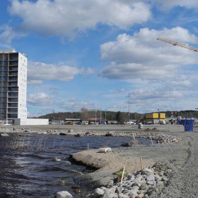 Äijälänrannan asuntomessualuetta Jyväskylässä.